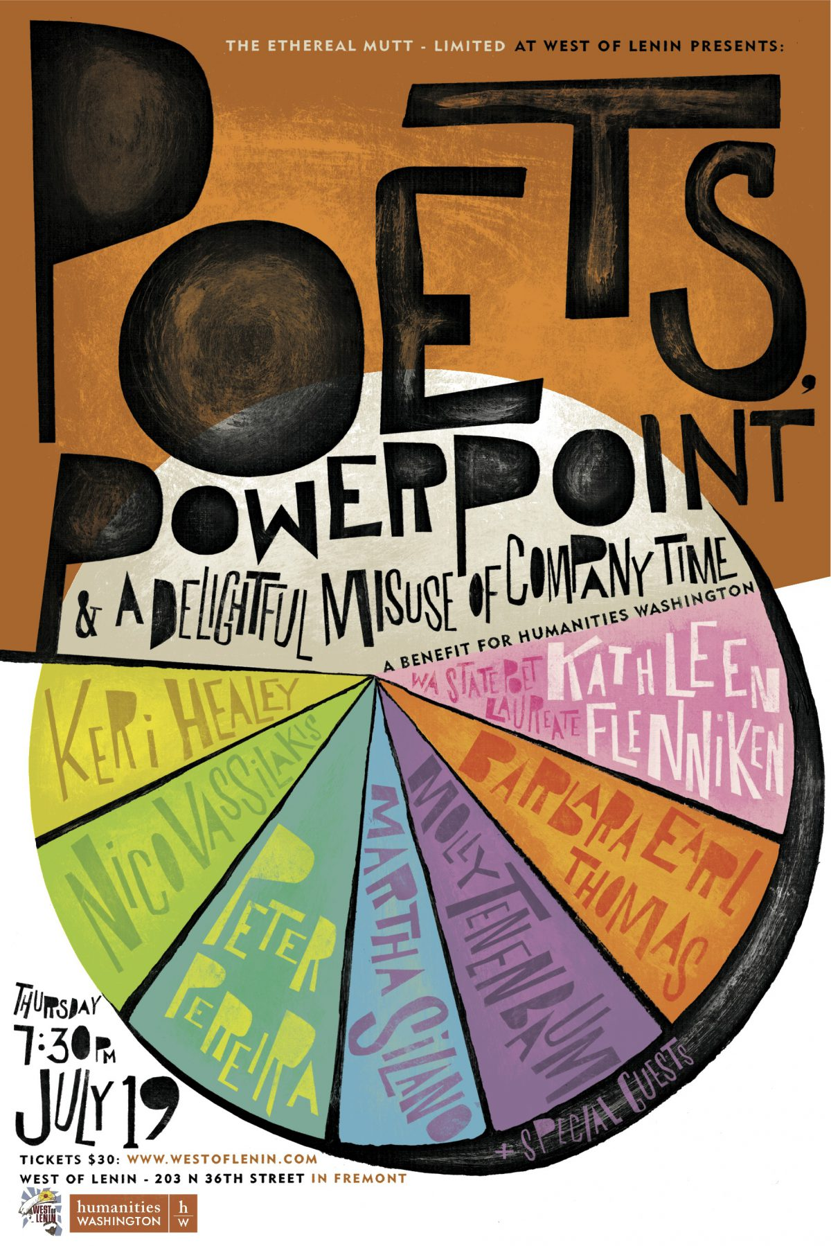 Poets, PowerPoint & A Delightful Misuse of Company Time poster