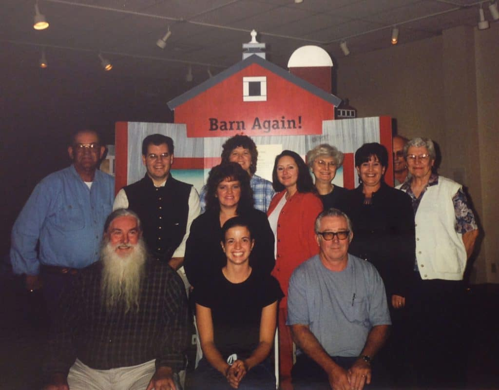 The team that put together the Clymer Museum's local component for the Barn Again! exhibit, which traveled across Washington as part of the Smithsonian Institute's Traveling Exhibit Service.