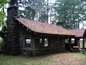 The shelters at Twanoh