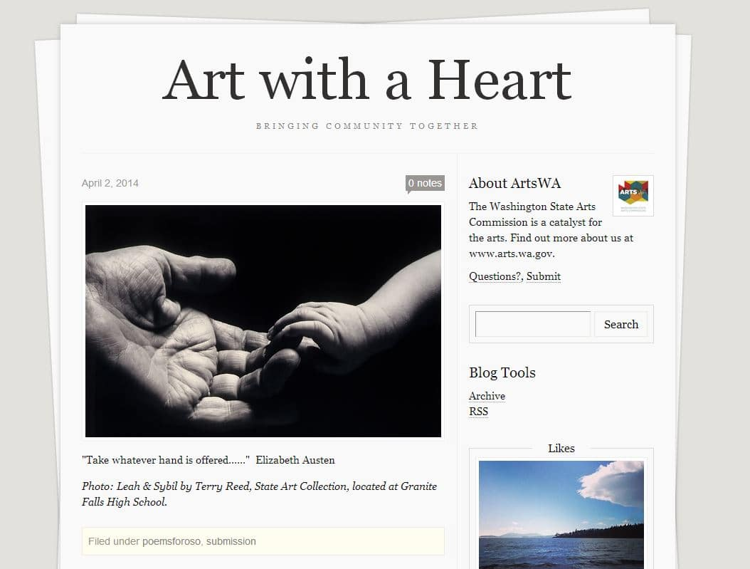 Art with a Heart - Response to Oso
