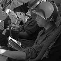 Soldier Reading - Lewis Taylor