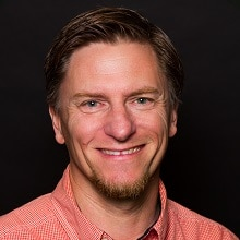 This image is a headshot of the speaker for this event, Mike VanQuickenborne.